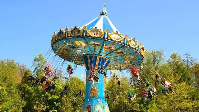 Entrée au Parc d'attractions Bagatelle pour 2 adultes