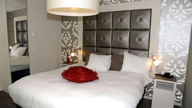 2 overnachtingen in een tweepersoons kamer comfort met tuinzicht voor 2 volwassenen