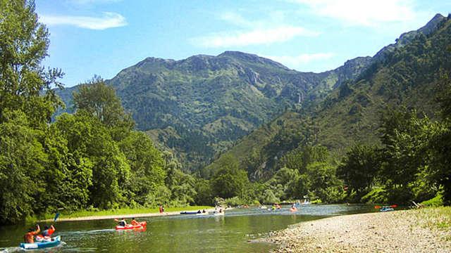 Descente en canoë/kayak sur la rivière Sella