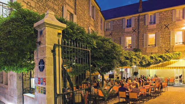 Hotel Le Fontarabie - Restaurant la Glycine
