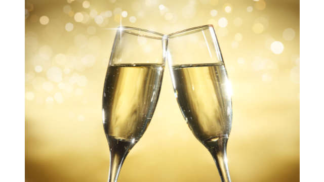 1 Glaasje champagne voor 2 volwassenen