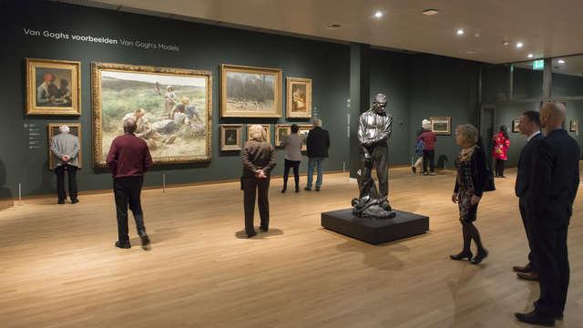 Entrée au musée de Vincent Van Gogh pour 2 adultes