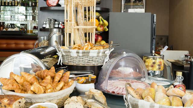 Hotel Elysees Bassano - salle de petit dejeuner