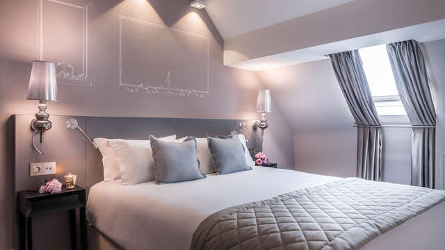 Hotel Beauchamps - chambre standard Taupe-