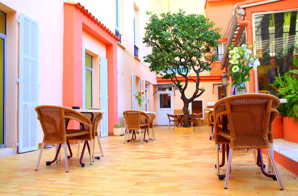 Hôtel Menton Riviera - Menton_riviera_terrasse.JPG