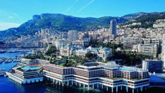 Fairmont Monte Carlo - fairmont vue aerienne