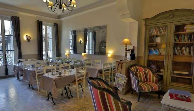 Hotel Maison Saint Louis Vieux Port - hotel saint louis chambre salle-a-manger