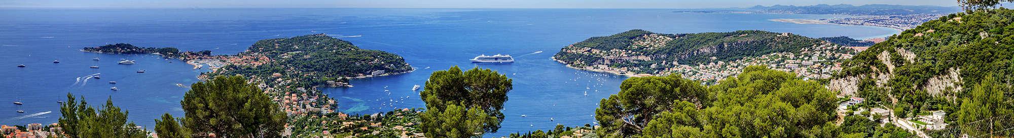 Week-end et séjour sur la Côte d'Azur