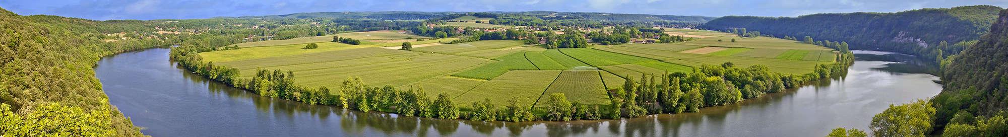 Week-end et séjour dans la  Vallée de la Dordogne