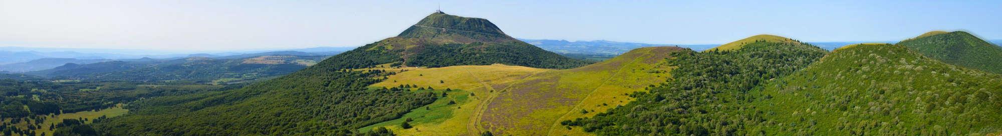 Week-end et séjour dans les Volcans d'Auvergne