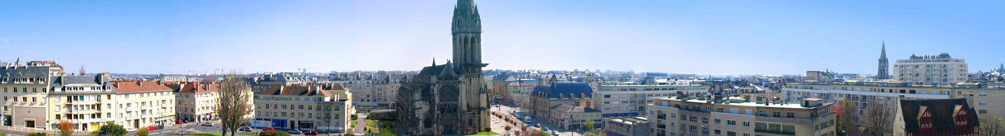 Week-end et séjour à Caen