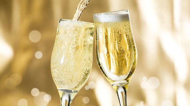 Dégustation de champagne