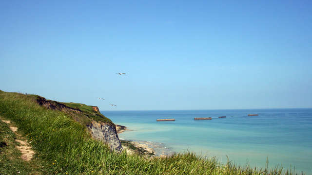 Vacanceole Domaine de la Corniche Deauville Sud - arromanches plage-debarquement cdt libre