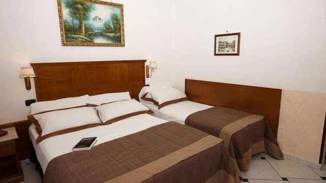 1 overnachting in een standaard tweepersoons kamer met stadszicht voor 2 volwassenen