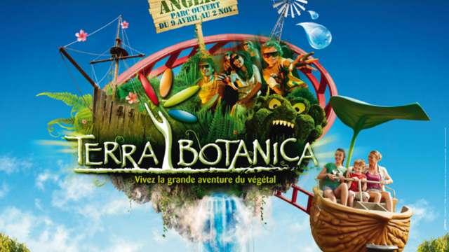 Entrée au Parc d'attractions Terra botanica pour 2 adultes