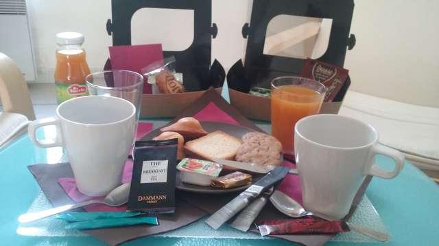 Desayuno para 2 adultos