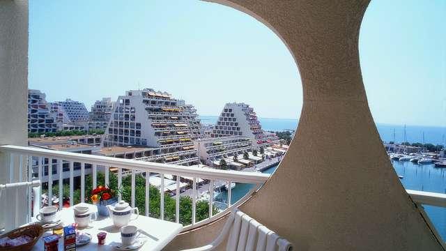 Mercure La Grande Motte Port - mercure-grande-motte-view-from-hotel