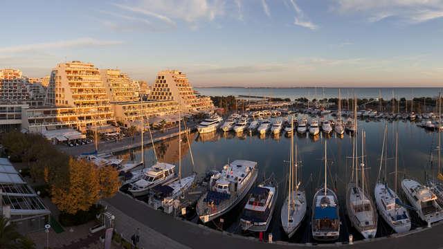 Mercure La Grande Motte Port - mercure-grande-motte-viw-from-hotel