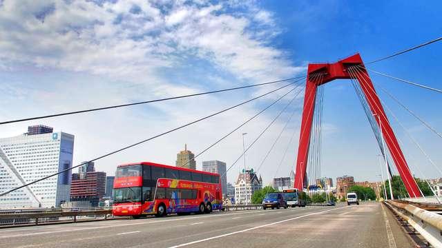 Rotterdam Hop on Hop Off Bus pour 2 adultes