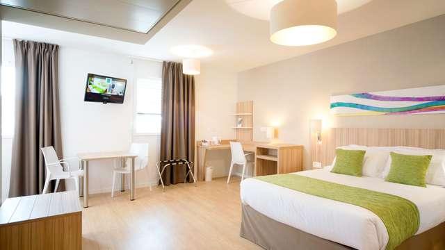 Quality Suites Lyon Lodge - Q Suite standard