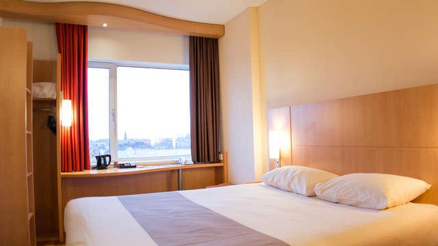 1 overnachting in een tweepersoons kamer comfort met stadszicht voor 2 volwassenen