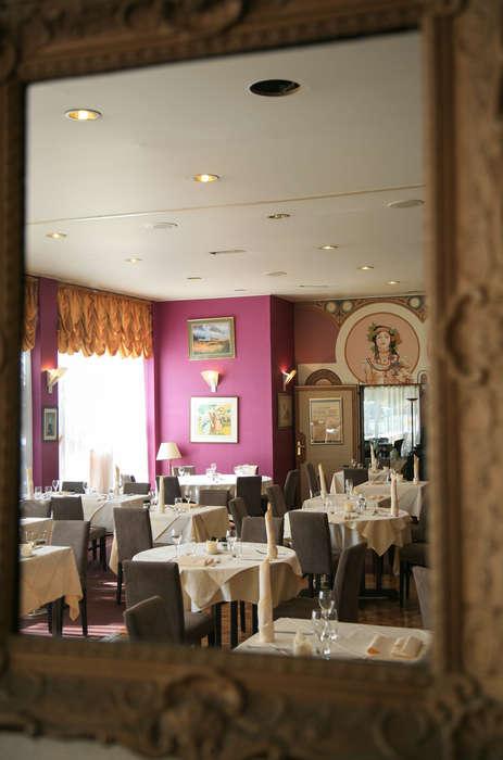 The Originals City, Hôtel de l'Ange, Colmar Sud (Inter-Hotel) - restaurant_de_l_ange_miroir_2015.jpg