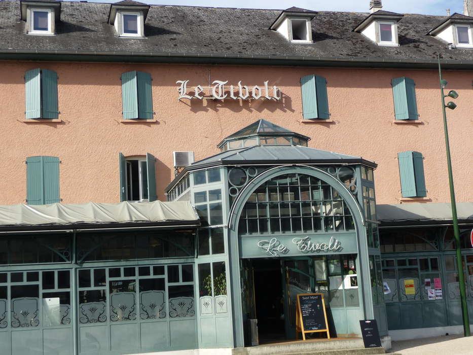 Hôtel Restaurant Le Tivoli - facade_tivoli.JPG