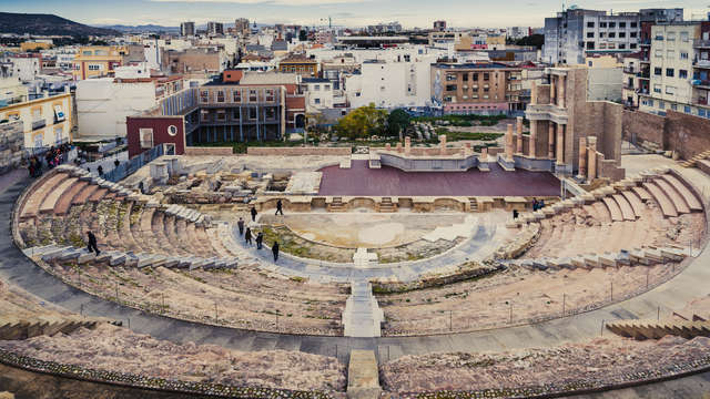 Visita al centro historico de Carthagène