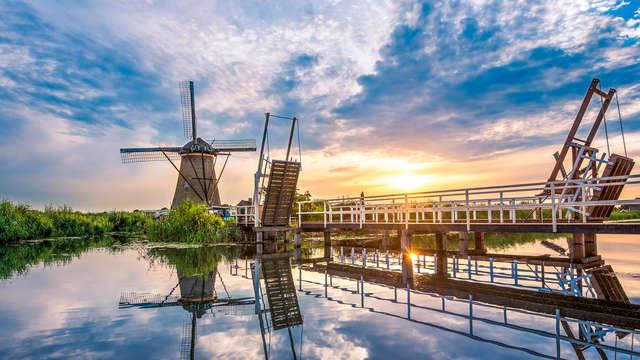 Van der Valk Hotel Ridderkerk - RTQ Kinderdijk-sunset-mill