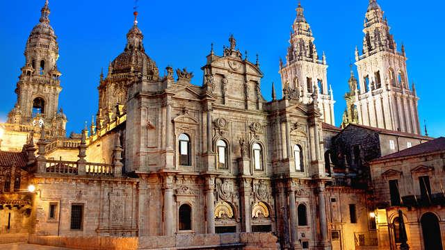 Escapada en perfecta ubicación junto la Catedral de Santiago