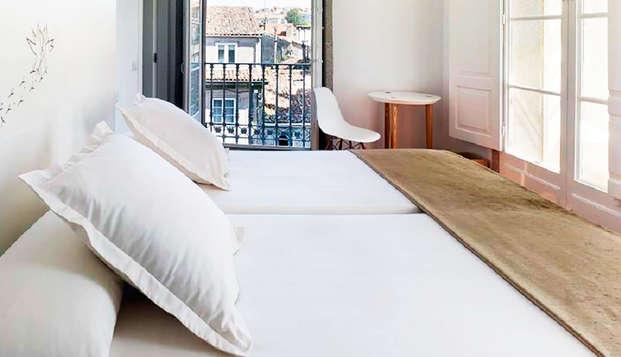 Escapada en el corazón de Santiago de Compostela en un hotel de diseño