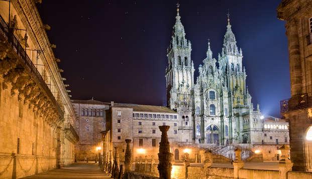 Gastronomía gallega: Escapada con cena en el centro de Santiago