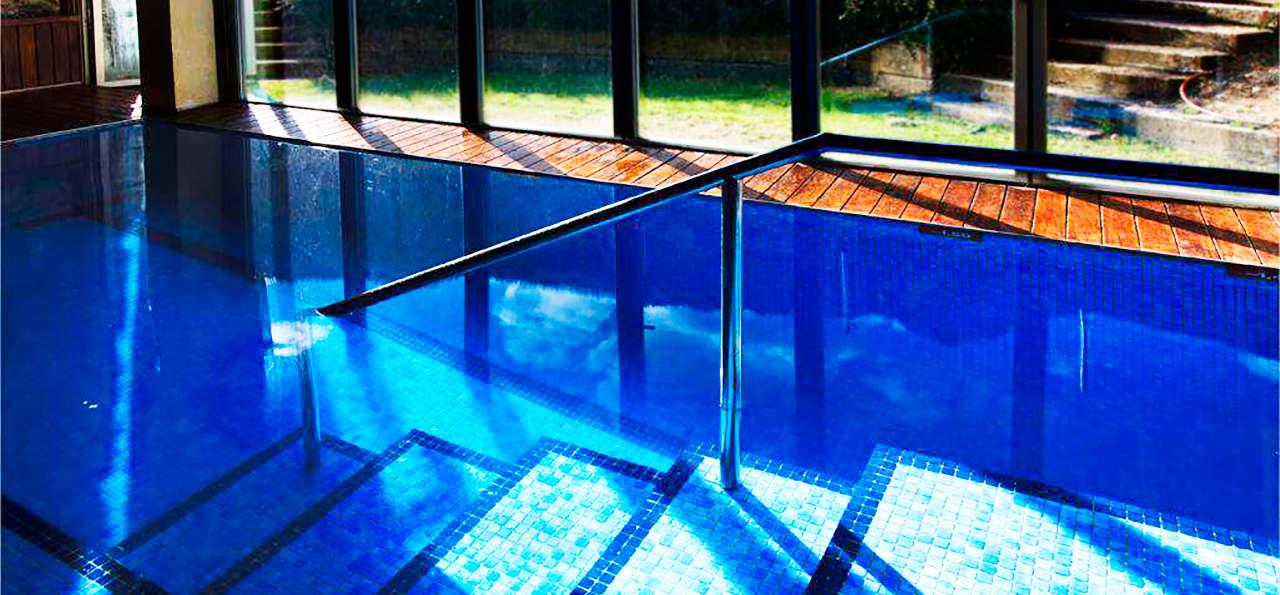 Escapadas fin de semana rural escunhau con acceso a la for Casa con piscina fin de semana
