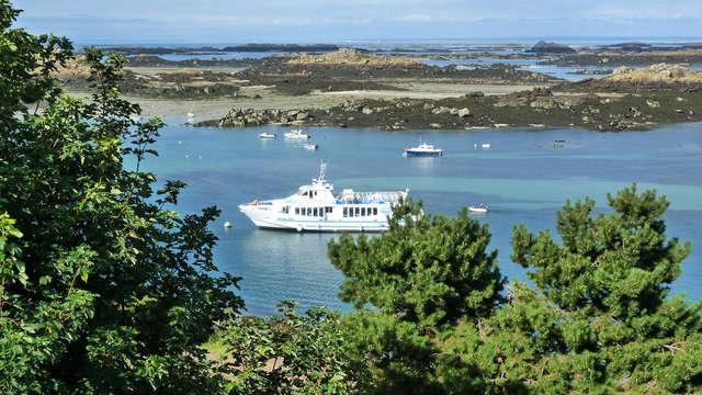 Traversée en bateau pour Les îles Chausey