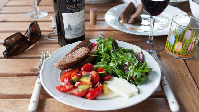 Hotel De Bengel - Lunch and wine