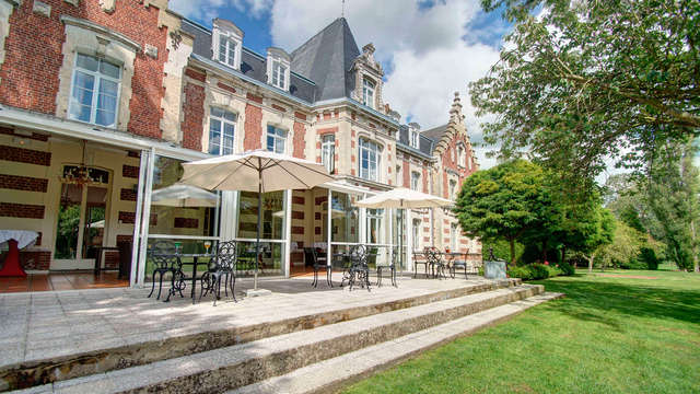 Najeti Hotel Chateau Tilques - front
