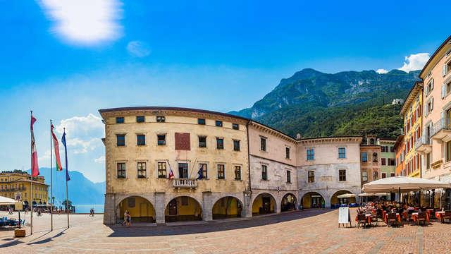Soggiorno con cena ed accesso alla spa in elegante hotel 4* a Riva del Garda