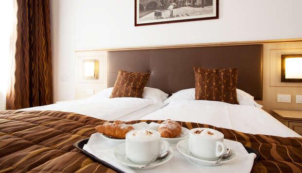 Accesso alla spa e massaggio per un soggiorno romantico a Riva del Garda!