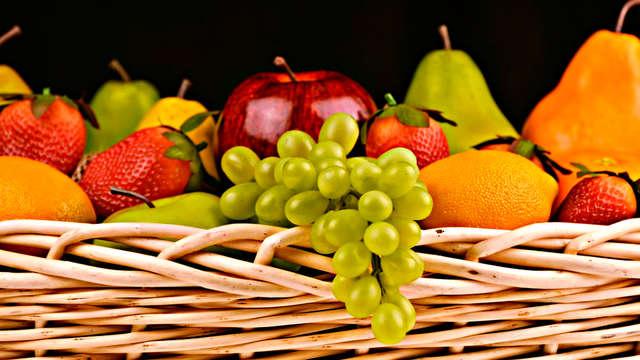 1 Panier de fruits pour 2 adultes