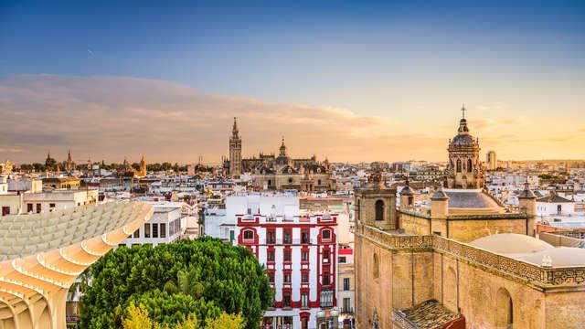 Escapada a Sevilla con transfer al centro incluido y desayunos gratuitos