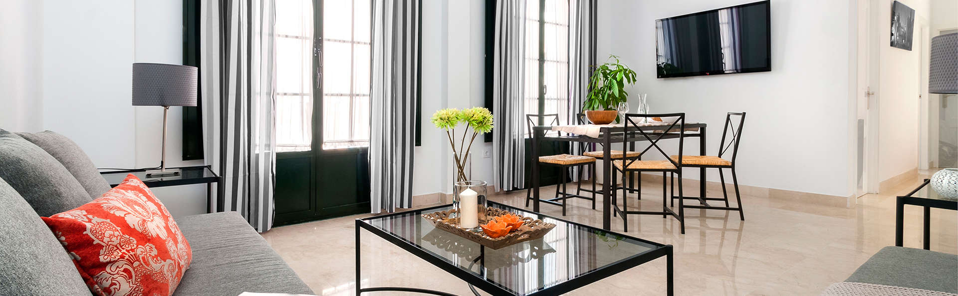 Découvrez Séville dans un appartement en plein centre-ville avec séjour enfant gratuit