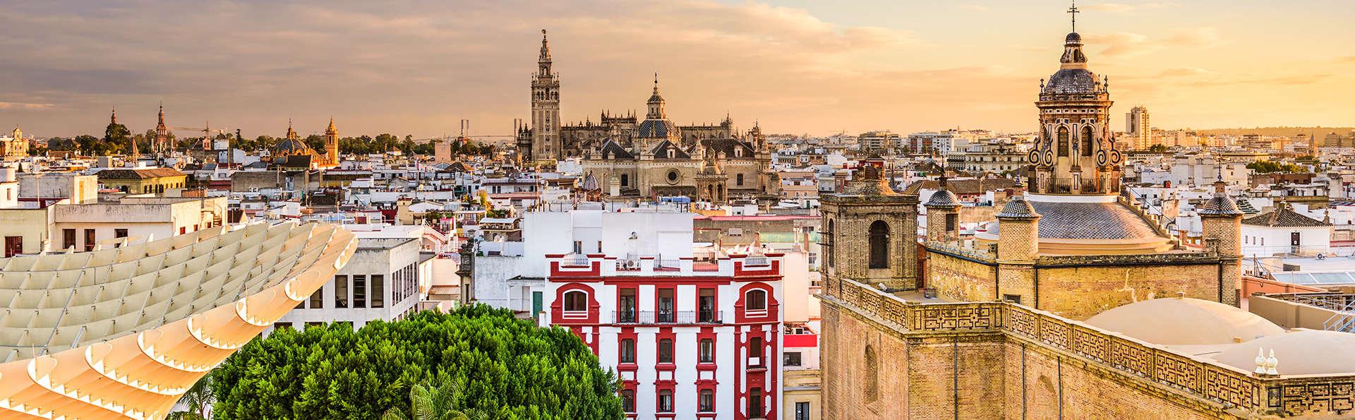 Échappez-vous dans le centre de Séville en appart hôtel avec petit-déjeuner inclus