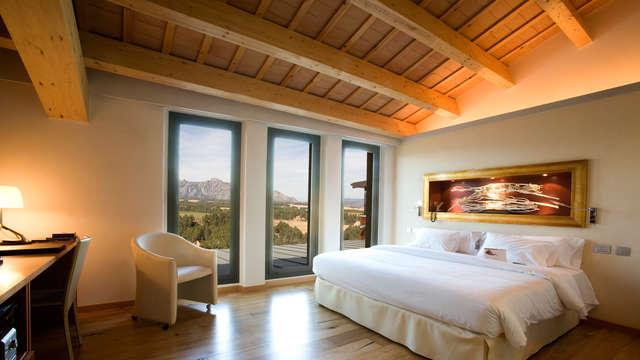 Escapada de lujo y relax a un hotel-bodega cerca de Barelona