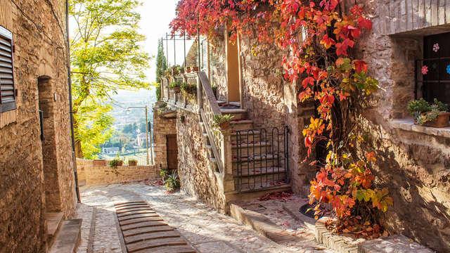 Séjour à Perugia, avec petit déjeuner et bouteille de vin
