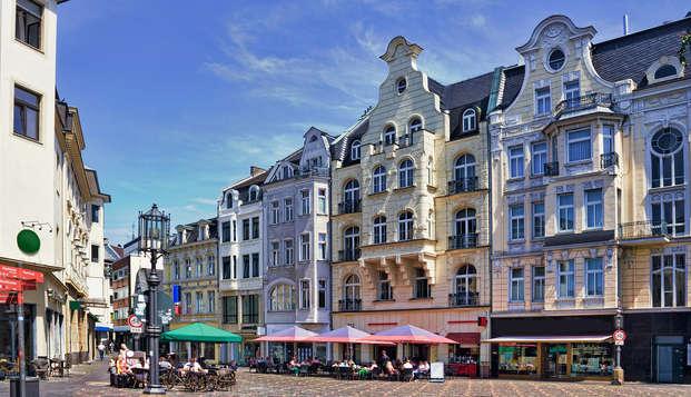 Summer special! Ga op minivakantie naar het prachtige Bonn, derde nacht gratis