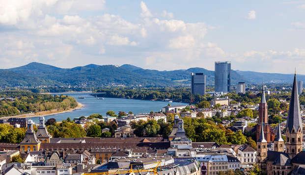 Ontdek het prachige Bonn tijdens een ontspannende minivakantie inclusief diner (vanaf 2 nachten)