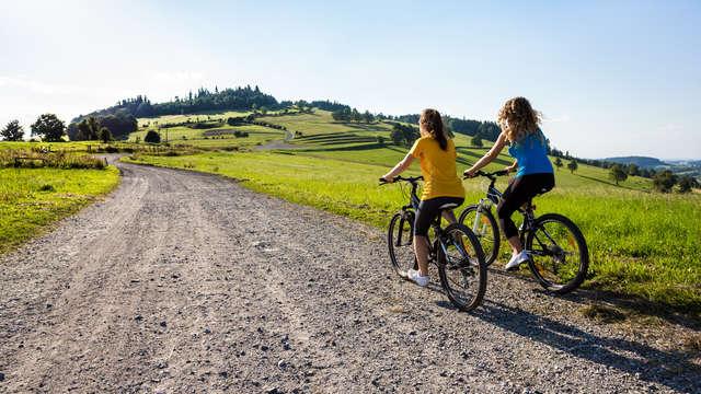 1 Huur van terreinfiets voor 2 volwassenen