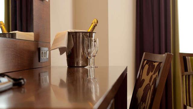 Cava drinken en uitslapen in je luxe kamer in het sfeervolle Luik