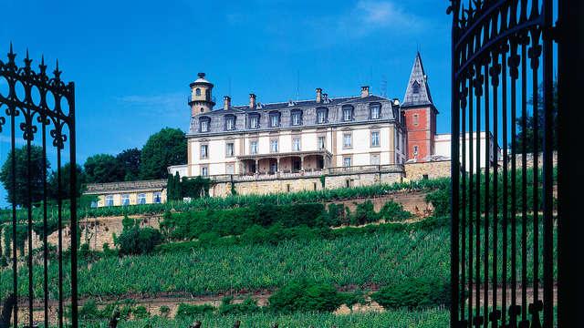 Offre spéciale : Week-end détente dans un château sur la route des vins