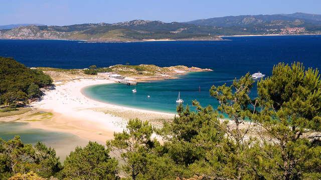 Week-end romantique avec Croisière vers les îles Cies à Cangas